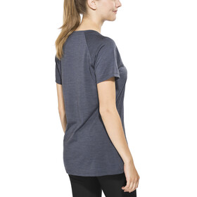 Bergans Sveve Wool Tee Women Night Blue Mel